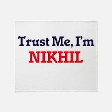 Trust Me, I'm Nikhil Throw Blanket