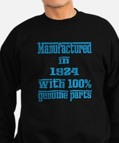 Manufactured in 1924 with 100% G Sweatshirt