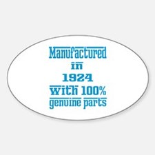 Manufactured in 1924 with 100% Genu Decal