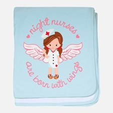Night Nurse baby blanket