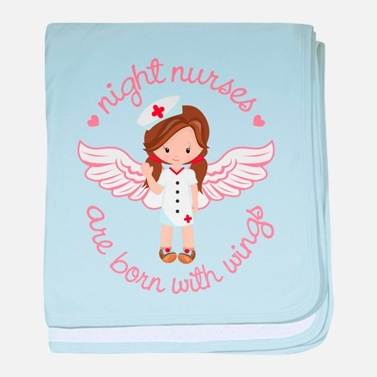 Night Nurse baby blanket