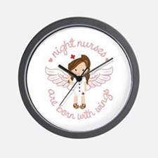 Night Nurse Wall Clock