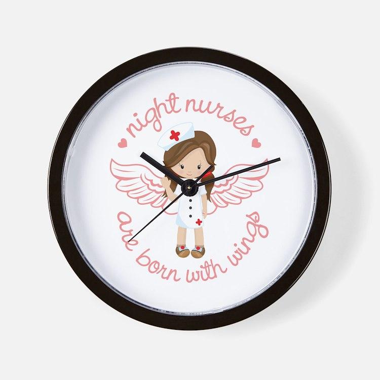 Night Nurse Wall Clock