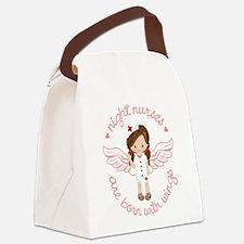 Night Nurse Canvas Lunch Bag