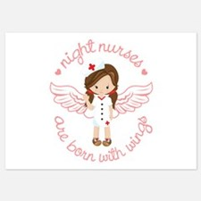 Night Nurse 5x7 Flat Cards