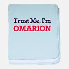 Trust Me, I'm Omarion baby blanket