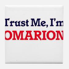 Trust Me, I'm Omarion Tile Coaster