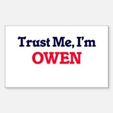 Trust Me, I'm Owen Decal