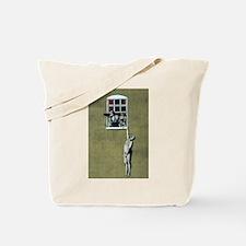 Banksy graffiti art  Tote Bag