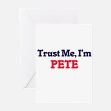 Trust Me, I'm Pete Greeting Cards