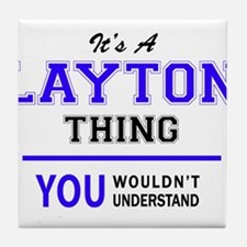 It's LAYTON thing, you wouldn't under Tile Coaster