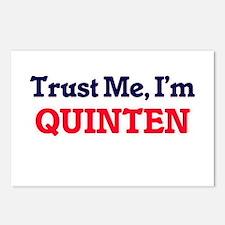 Trust Me, I'm Quinten Postcards (Package of 8)