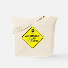 Clam Digger Tote Bag
