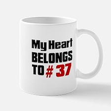 My Heart Belongs To # 37 Mug