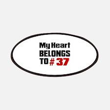 My Heart Belongs To # 37 Patch