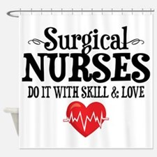 Surgical Nurse Shower Curtain
