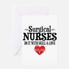 Surgical Nurse Greeting Card