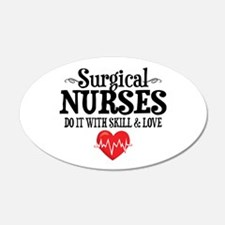 Surgical Nurse Wall Decal