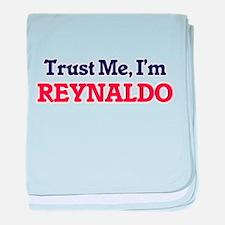 Trust Me, I'm Reynaldo baby blanket