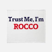 Trust Me, I'm Rocco Throw Blanket