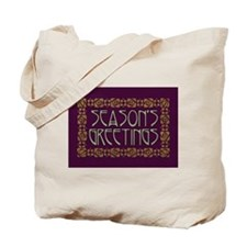 Art Nouveau Season's Greeting Tote Bag