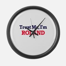 Trust Me, I'm Roland Large Wall Clock
