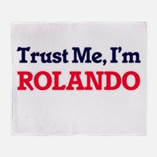 Trust Me, I'm Rolando Throw Blanket