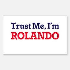 Trust Me, I'm Rolando Decal