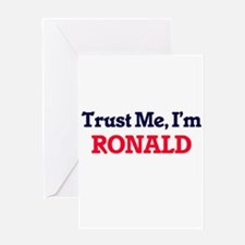 Trust Me, I'm Ronald Greeting Cards