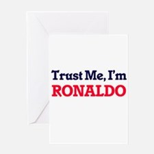 Trust Me, I'm Ronaldo Greeting Cards