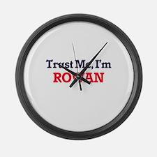 Trust Me, I'm Rowan Large Wall Clock