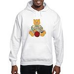 Dressed Up Kitty Hooded Sweatshirt