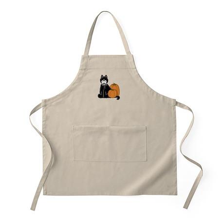 Black Cat w/Pumpkins 2 BBQ Apron