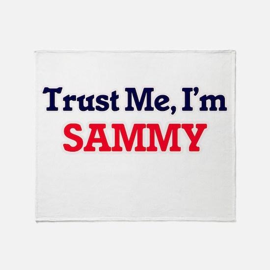 Trust Me, I'm Sammy Throw Blanket