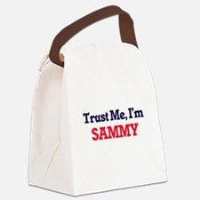 Trust Me, I'm Sammy Canvas Lunch Bag