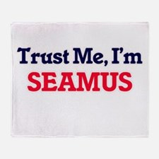 Trust Me, I'm Seamus Throw Blanket
