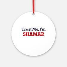 Trust Me, I'm Shamar Round Ornament