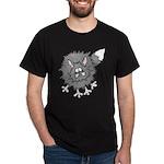 Frazzled Cat Dark T-Shirt