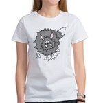 Frazzled Cat Women's T-Shirt
