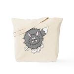Frazzled Cat Tote Bag