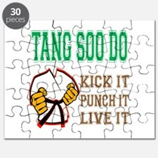 Tang Soo do kick it punch it live it Puzzle