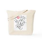 I Love My Kitty Kat Tote Bag