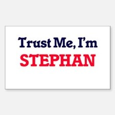 Trust Me, I'm Stephan Decal