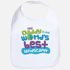 Landscaper Gifts for Kids Bib