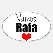 Vamos Rafa Love Decal