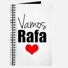 Vamos Rafa Love Journal