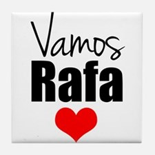 Vamos Rafa Love Tile Coaster