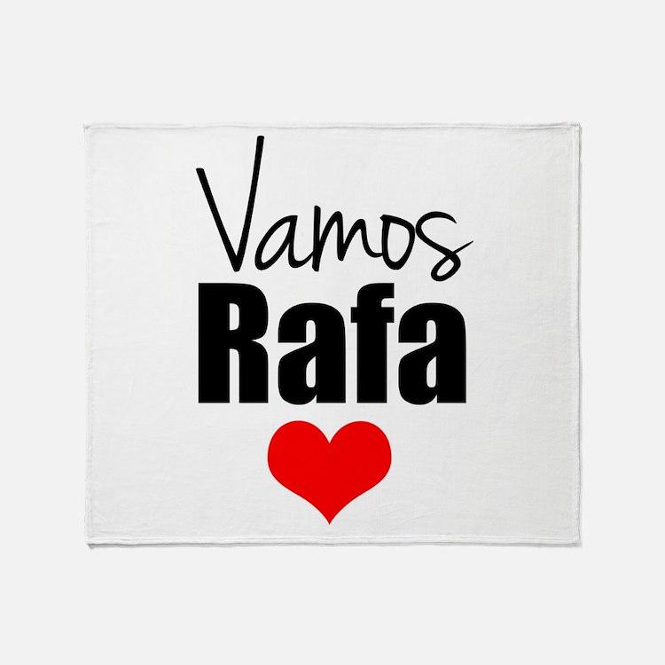 Vamos Rafa Love Throw Blanket