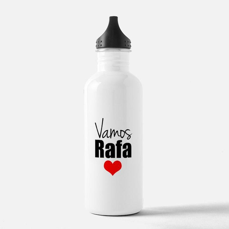 Vamos Rafa Love Water Bottle
