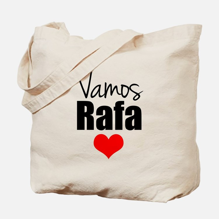 Vamos Rafa Love Tote Bag